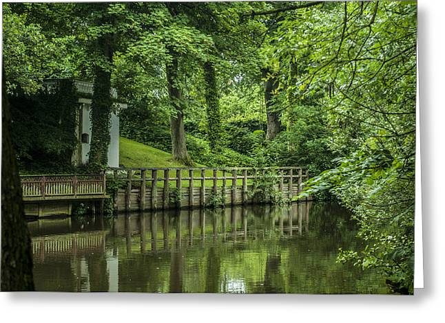 Mangrove Forest Greeting Cards - Odense in Summer Greeting Card by Jonas Leonas