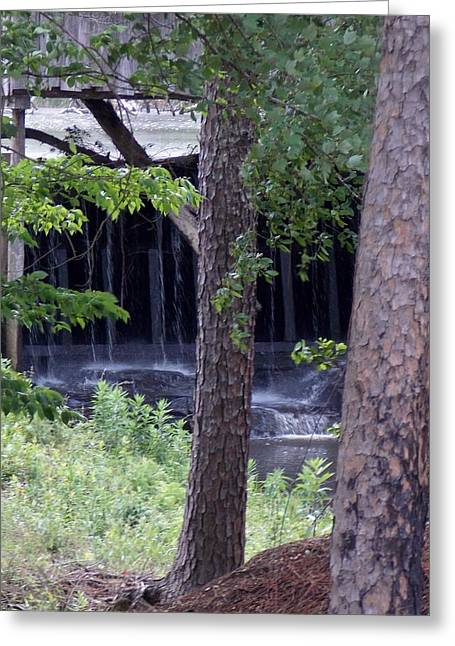 Grist Mill Greeting Cards - Off The Beaten Path Greeting Card by John  Glass