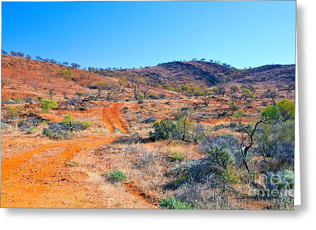 Off Greeting Cards - Off the Beaten Track Greeting Card by Bill  Robinson