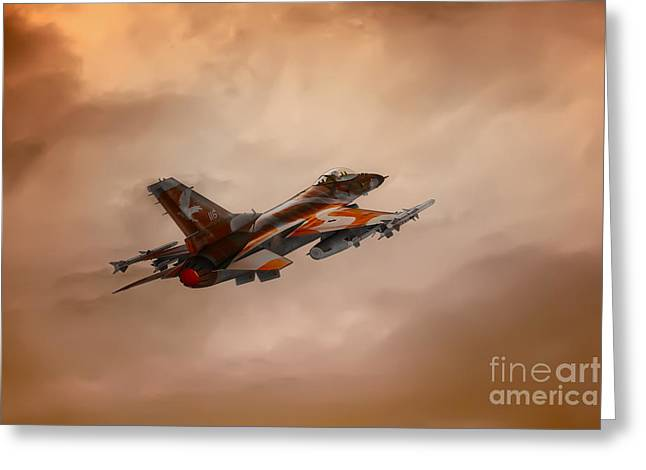 Aviation Photography Greeting Cards - Off To War Greeting Card by Tom York Images