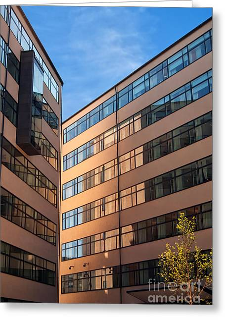 Office Building Malmo Greeting Card by Antony McAulay