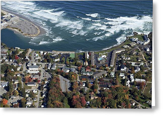 Maine Beach Greeting Cards - Ogunquit, Maine Greeting Card by Dave Cleaveland