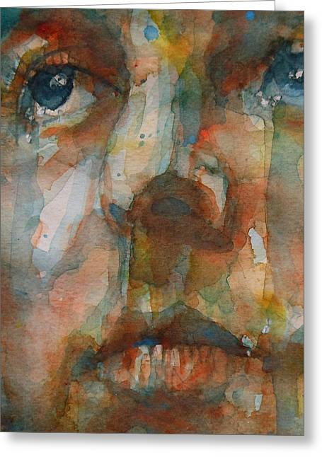 British Celebrities Greeting Cards - Oh Darling Greeting Card by Paul Lovering
