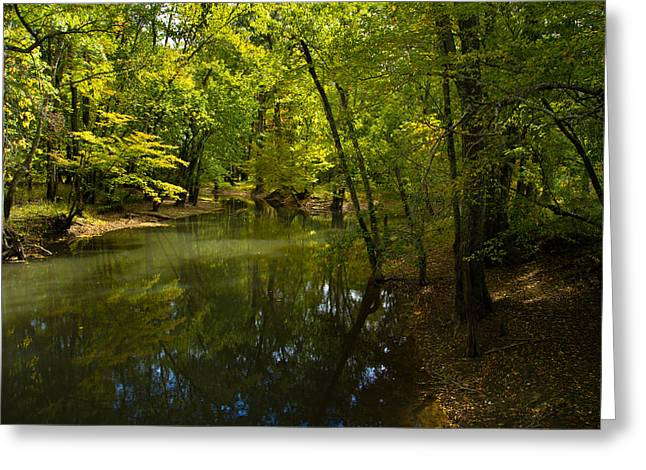 Virginia Landscape Greeting Cards - Oh The Places You Will See On The Road Less Traveled Greeting Card by Shane Holsclaw