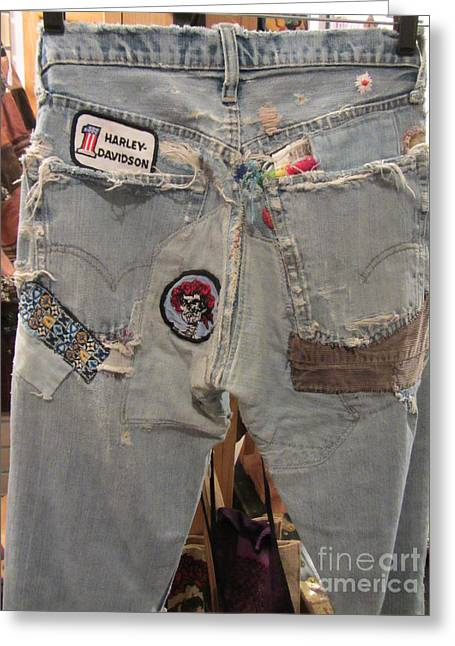 Levis Greeting Cards - Oh Very Young - Fashion Greeting Card by Susan Carella