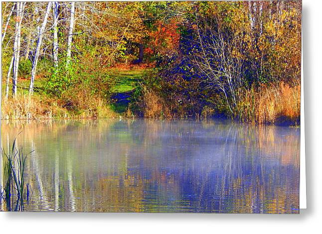Annapolis Valley Greeting Cards - Oh What A Beautiful Morning Greeting Card by Karen Cook