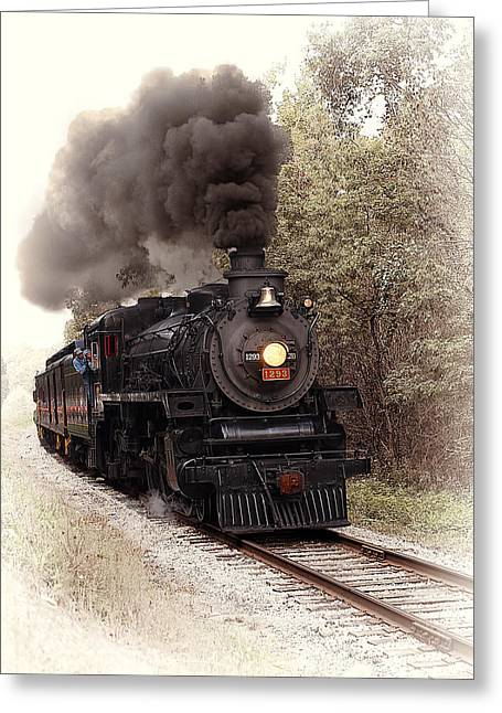 Old Western Photos Greeting Cards - Ohio Central Greeting Card by Marcia Colelli