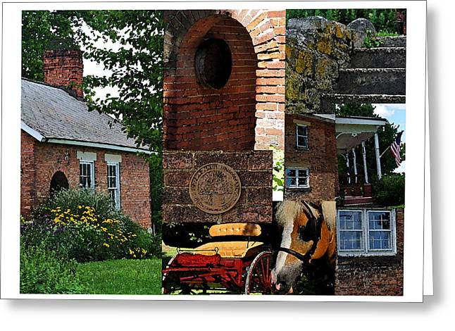 Ohio History Greeting Cards - Ohio Collage Greeting Card by Peter  McIntosh