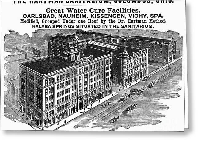 Sanitarium Greeting Cards - Ohio: Sanitarium, 1901 Greeting Card by Granger