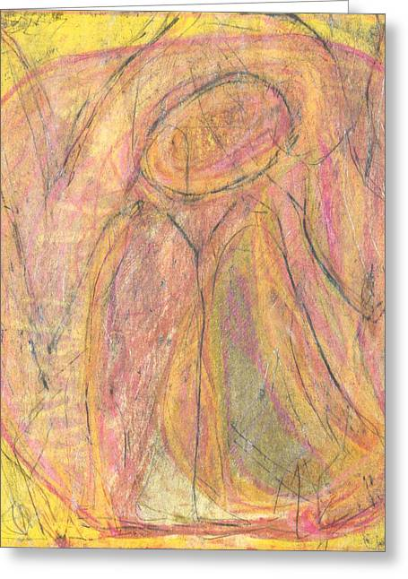 Depression Pastels Greeting Cards - Ohne Greeting Card by Gerhard Beck