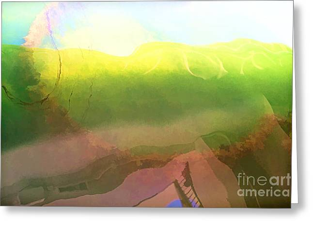 The Cost Of War Greeting Cards - Oil Leak 5 Greeting Card by Jon Burch Photography