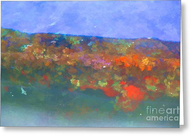 The Cost Of War Greeting Cards - Oil Leak 7 Greeting Card by Jon Burch Photography