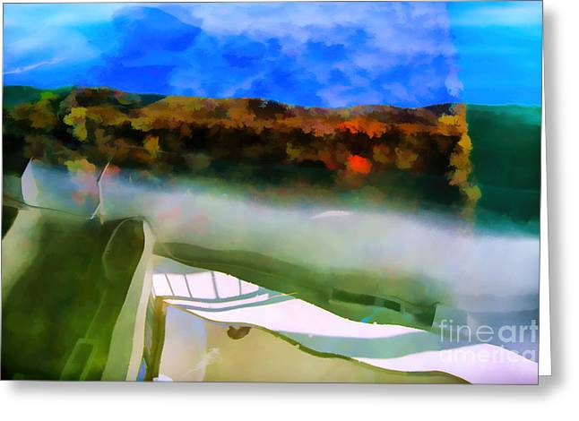 The Cost Of War Greeting Cards - Oil Leak 8 Greeting Card by Jon Burch Photography