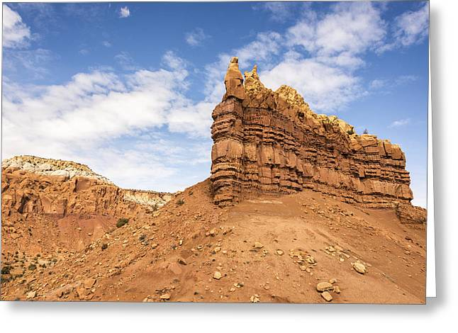 Northern New Mexico Greeting Cards - Ojitos De Los Gatos - New Mexico Greeting Card by Brian Harig