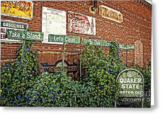 Fineartphotography Greeting Cards - Oklahoma Farm Bureau Okies Take a Stand Greeting Card by Lee Craig
