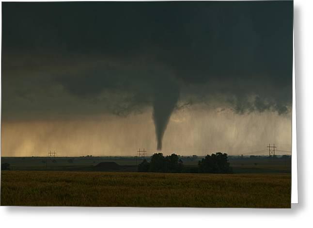 May 24 Greeting Cards - Oklahoma Tornado Greeting Card by Brandon  Ivey