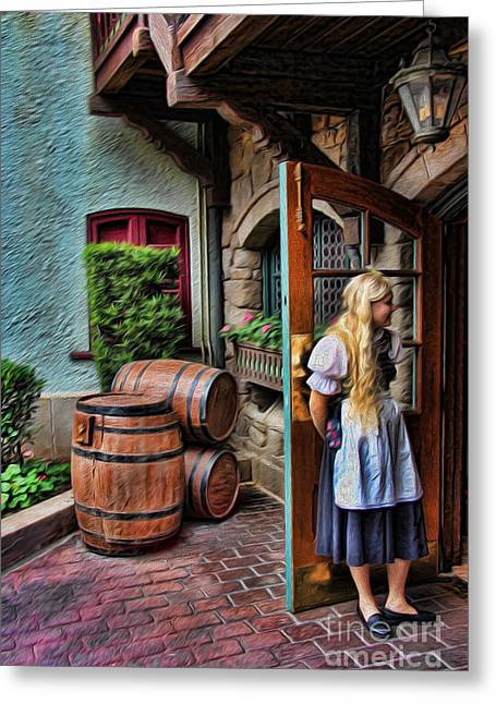 Deutschland Greeting Cards - Oktoberfest Fraulein II Greeting Card by Lee Dos Santos