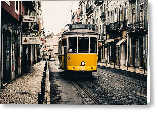 Trolley Car Greeting Cards - Ol 28 Greeting Card by Marco Oliveira