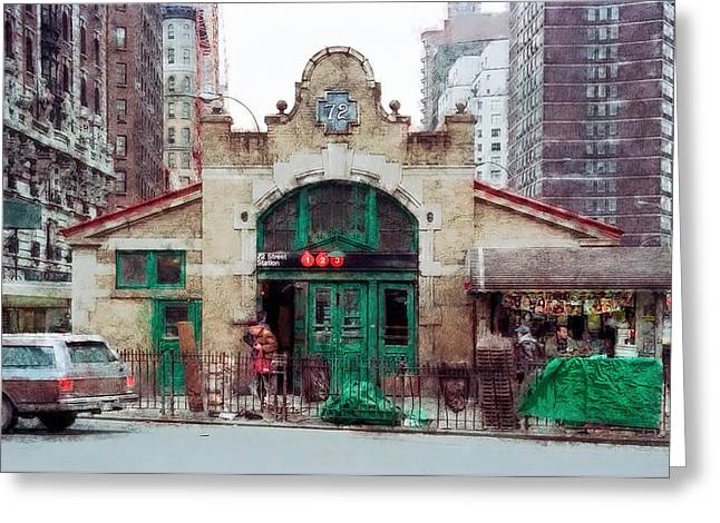 Work Station Greeting Cards - OLD 72nd STREET STATION - NEW YORK CITY Greeting Card by Daniel Hagerman