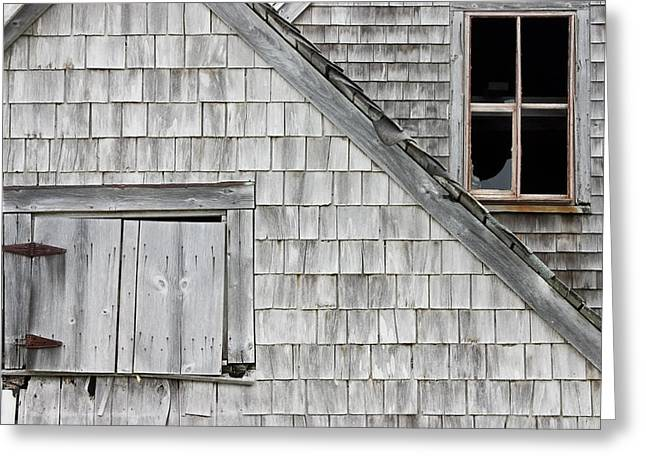 Buildings Greeting Cards - Old Abandoned Building Greeting Card by Keith Webber Jr