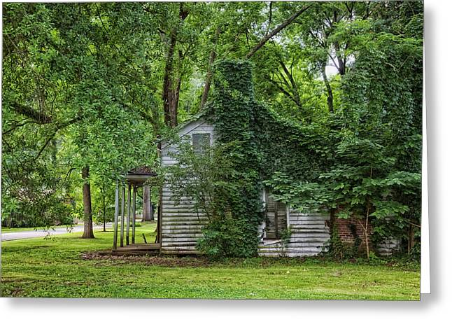 Kudzu Greeting Cards - Old Abandoned Home in Mooresville Alabama Greeting Card by Mountain Dreams