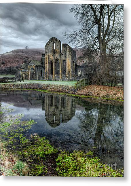 Old Abbey Greeting Card by Adrian Evans