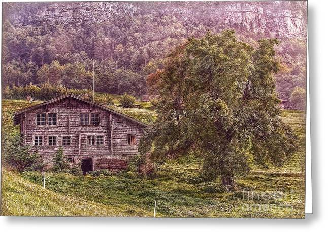 Haus Greeting Cards - Old and Abandoned Greeting Card by Hanny Heim