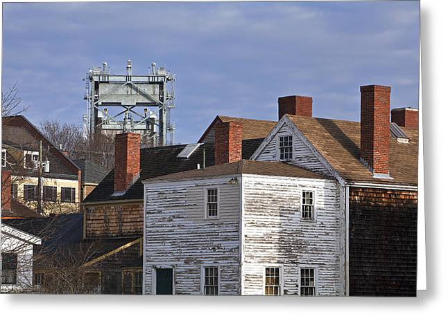 Prescott Greeting Cards - Old and New Greeting Card by Eric Gendron