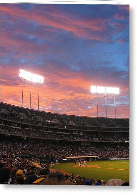 Old Pitcher Greeting Cards - Old Ball Game Greeting Card by Photographic Arts And Design Studio