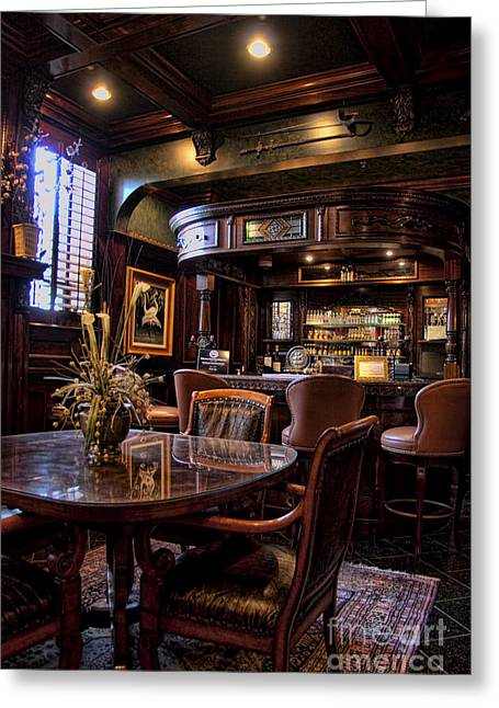 Old Inns Greeting Cards - Old Bar in Charleston SC Greeting Card by David Smith