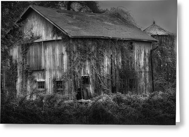 Old Barn Greeting Card by Bill  Wakeley