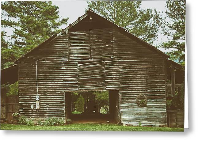 Alabama Greeting Cards - Old Barn in Alabama Greeting Card by Mountain Dreams