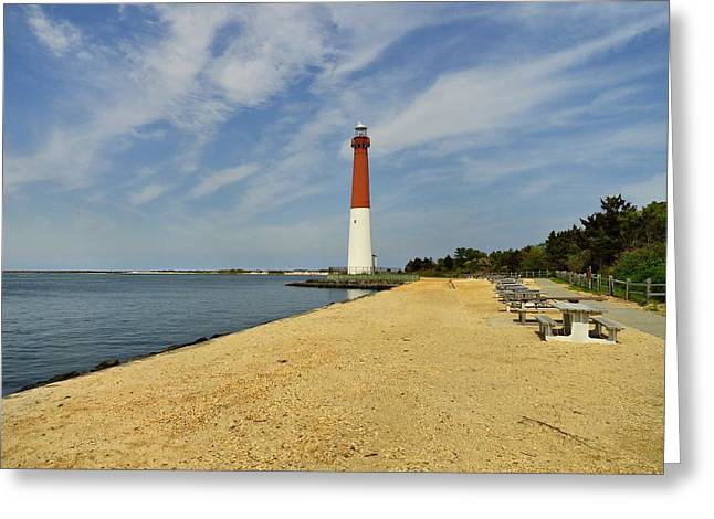 Barnegat Greeting Cards - Old Barney - Jersey Shore Greeting Card by Angie Tirado