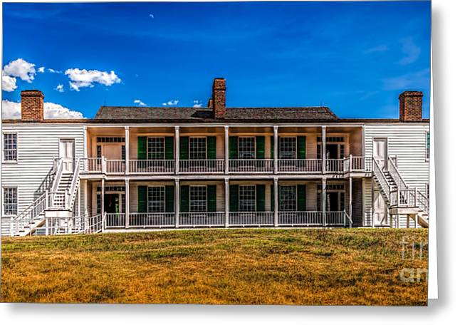 Officers Quarters Greeting Cards - Old Bedlam Greeting Card by Jon Burch Photography