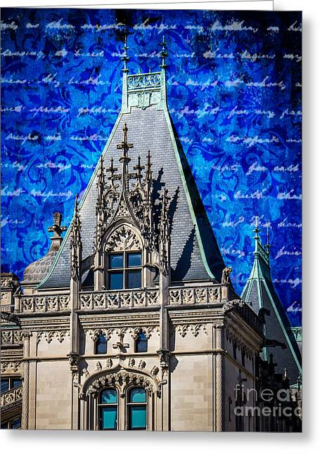 French Renaissance Greeting Cards - Old Biltmore  Greeting Card by Perry Webster