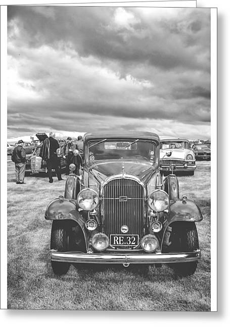 Kjg Greeting Cards - Old Black And White Greeting Card by Mirra Photography