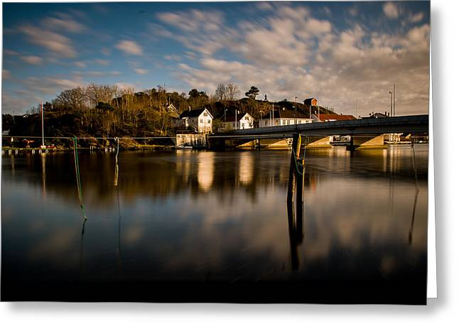 Mandal Greeting Cards - Old brigde Greeting Card by Mirra Photography
