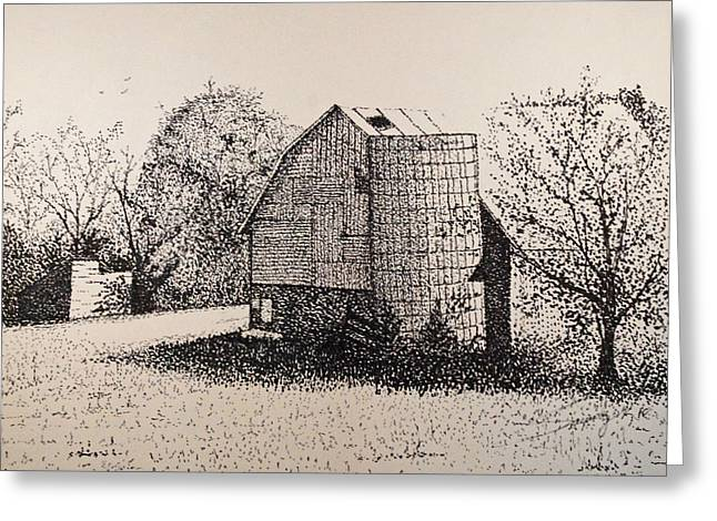 Shed Drawings Greeting Cards - Old But Beautifull Greeting Card by Saundra Smoker