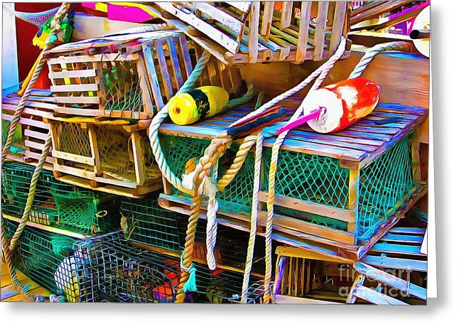 Masts Greeting Cards - Old But Not Forgotten  Greeting Card by Helene Guertin