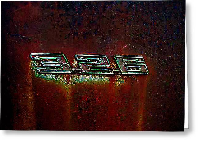 Junkyard Pyrography Greeting Cards - Old Car City 326 Greeting Card by Richard Erickson