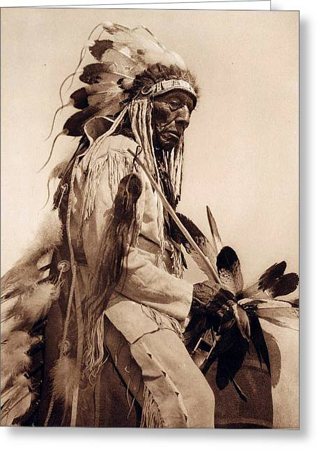Old Western Photos Digital Art Greeting Cards - Old Cheyenne Greeting Card by Studio Photo