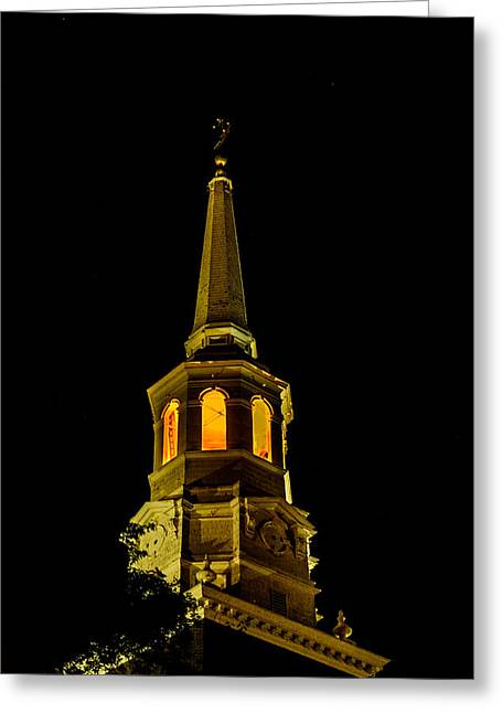 Old Christ Church Greeting Card by Louis Dallara
