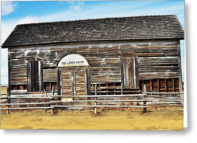 Expired Greeting Cards - Old Church Greeting Card by Kae Cheatham
