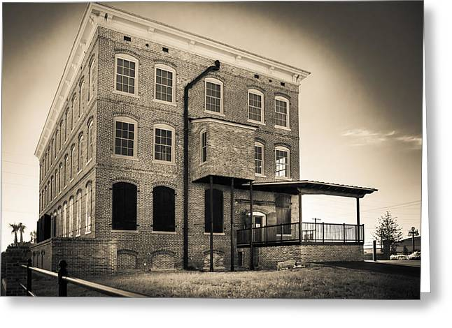 Ybor City Greeting Cards - Old Cigar Factory Greeting Card by Ybor Photography