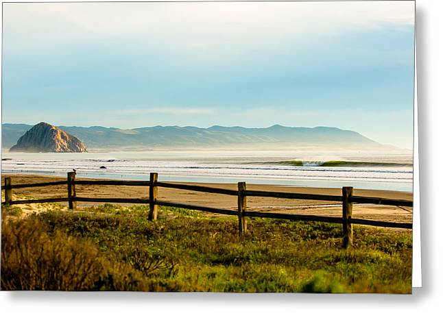 Best Sellers -  - Coast Highway One Greeting Cards - Old Creek Cayucos Greeting Card by Andy Bowlin