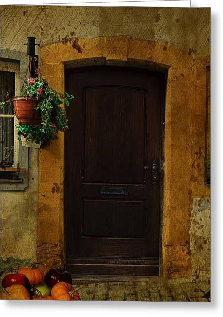 Fuselier Greeting Cards - Old Door Greeting Card by Cecil Fuselier