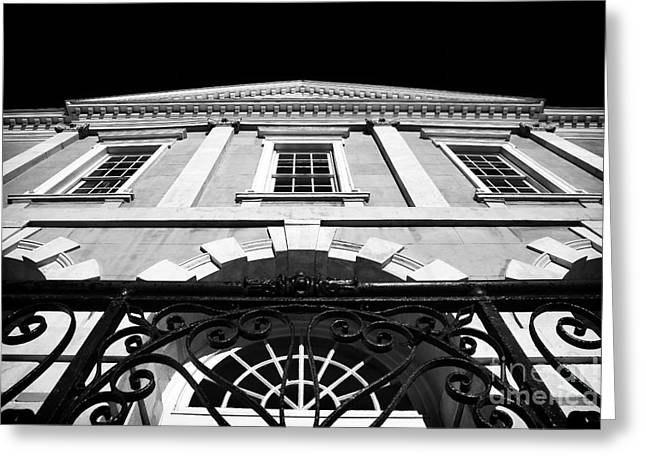 Old Exchange Building Greeting Card by John Rizzuto