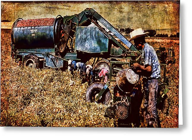 Old Farm Equipment Greeting Card by Bellesouth Studio