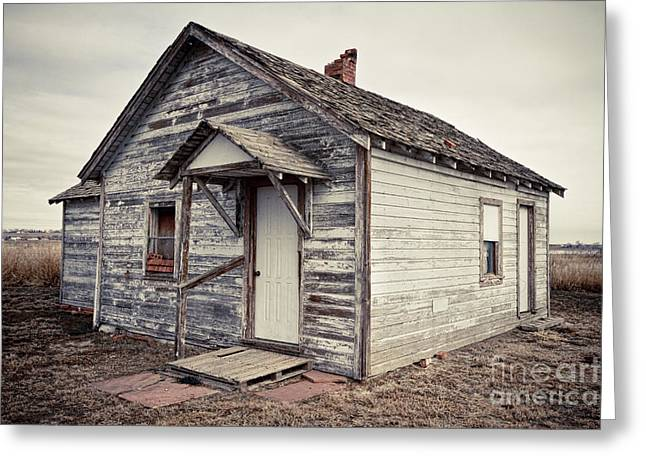Old Farmhouse Prints Greeting Cards - Old Farm House Greeting Card by James BO  Insogna