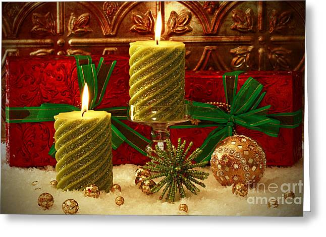 Shelley Myke Greeting Cards - Old Fashion Christmas Greeting Card by Inspired Nature Photography By Shelley Myke